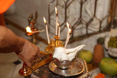 The annakut aarti