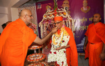 Patotsav Ceremony at Shree Swaminarayan Mandir, Mumbai