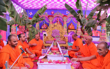 Patotsav at Shree Swaminarayan Mandir – Bavla