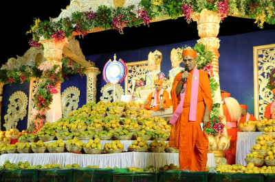 Sadguru Shree Jitendriyapriyadasji Swami addresses all and reflects on what all disciples want: darshan of the Lord
