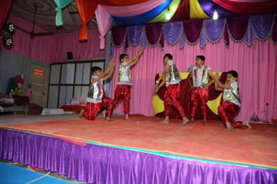 Disciples perform various dances to please the Lord