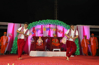 Disciples perform a devotional dance