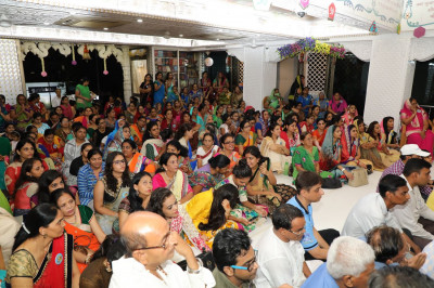 Disciples from all over the world attend the celebrations at Shree Swaminarayan Mandir Mumbai
