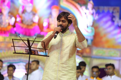 Talented artists perform devotional songs