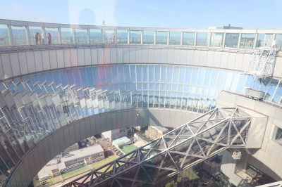 The ring around the Umeda Sky Building