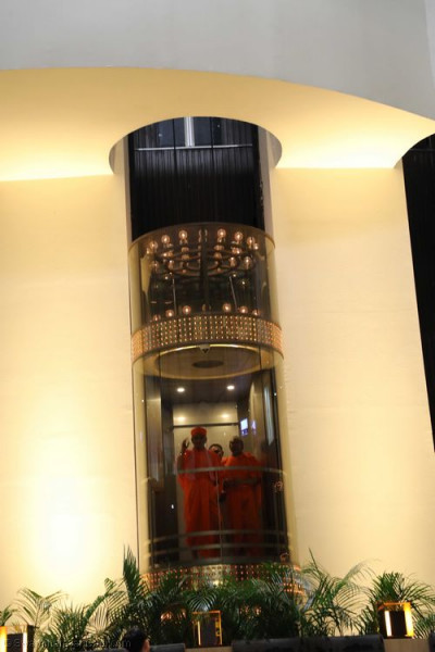 One of the elevators