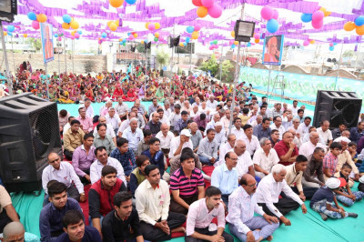 Hundreds of disciples gather to celebrate