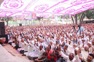 Thousands of disciples gather to celebrate the anniversary