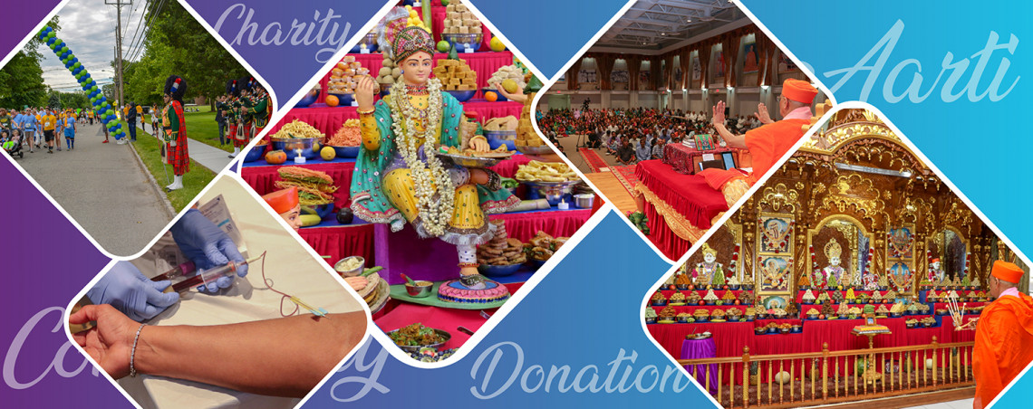 Donate to Maninagar Shree Swaminarayan Gadi Sansthan North America