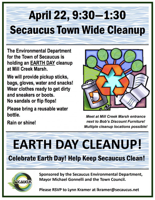 Earth Day Cleanup!