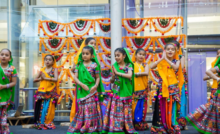 Diwali 2017 Celebrations at Brent Cross - London