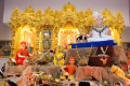 Dhanteras celebrations at Shree Swaminarayan Mandir Kingsbury