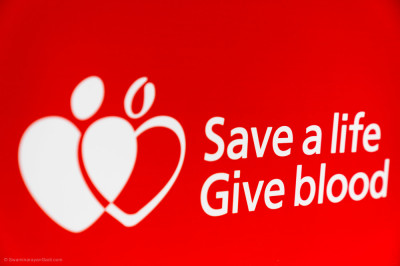 Donate blood and save a life