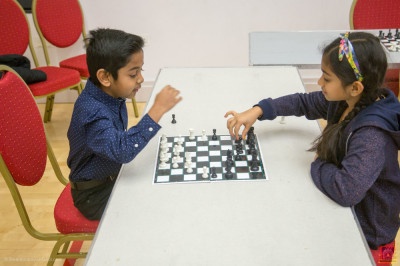 The junior chess tournament