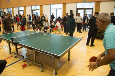Table tennis singles final