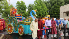 Acharya Swamishree's Arrival to North America