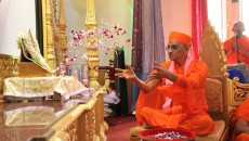 Acharya Swamishree Commences North America Vicharan with 5th Patotsav Celebrations at Shree Swaminarayan Temple - Scarborough, Canada