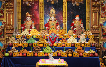 5th Patotsav Celebrations at Shree Swaminarayan Temple - Bear, Delaware