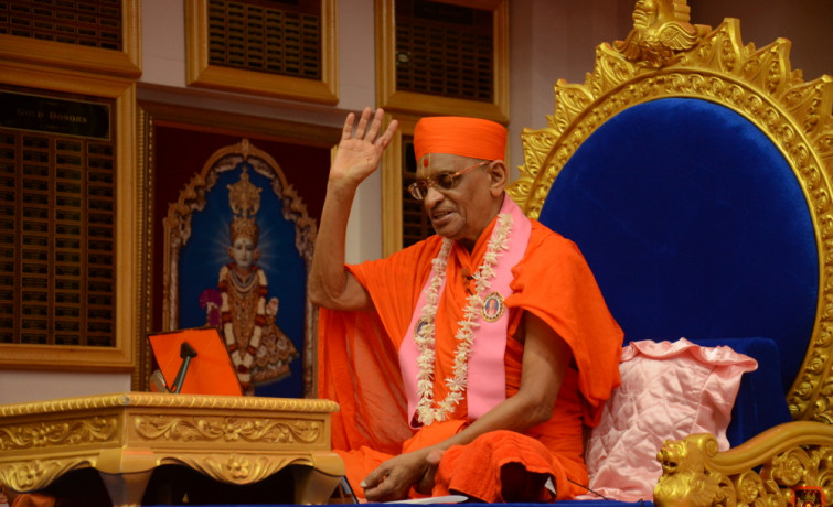 Acharya Swamishree Completes His North America Vicharan 2019