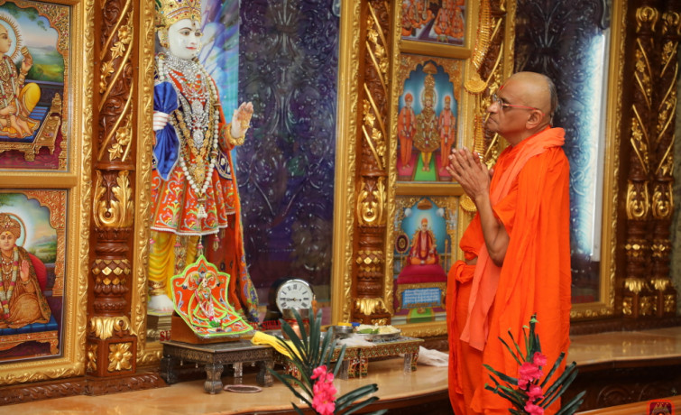 Shree Swaminarayan Temple, New Jersey 18th Patotsav