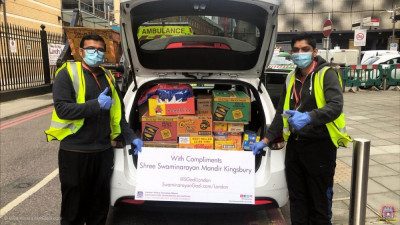Disciples deliver essential supplies to NHS heroes