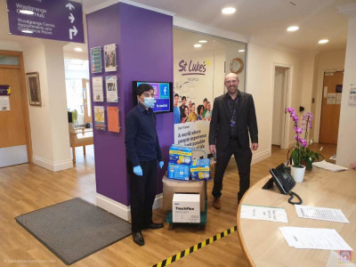 Items donated to St Luke's Hospice