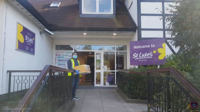 Items are donated to St Luke's Hospice