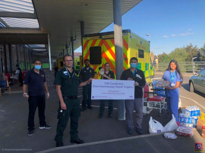 Disciples donate essentials to NHS front line staff