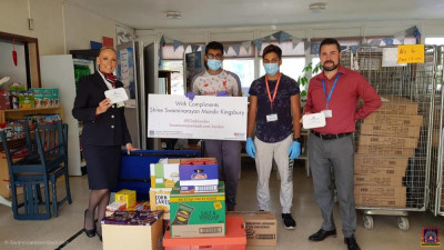 Disicples donate and distribute essentials to NHS staff