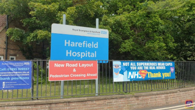 Harefield Hospital is one of the many London hospitals where donations are being distributed to NHS front line staff