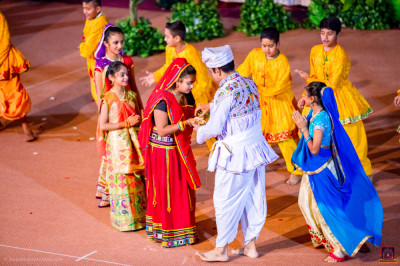 Devotional dance performance