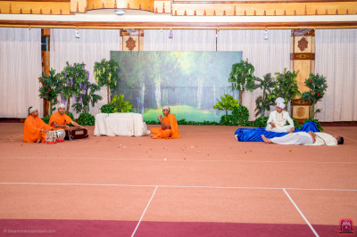 Devotional drama performance