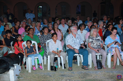 Audience enjoy the perfomance