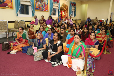 Many disciples attended and took part in the celebrations.