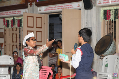A scene from drama production 'Chandlano Pratap'