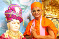 Acharya Swamishree Maharaj Arrives in Maninagar