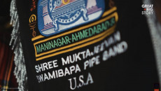 CNN's Great Big Story covers Shree Muktajeevan Swamibapa Pipe Band USA
