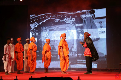 Disciples of Panchmaahal perform 'Consequences of performing offences'