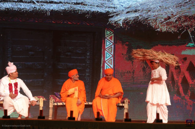 Disciples of Surat perform 'Creator of good character'