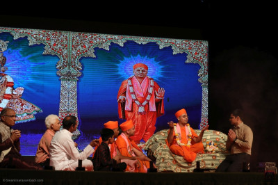 Disciples of Maninagar perform 'Unparalleled epitome of spiritual knowledge'
