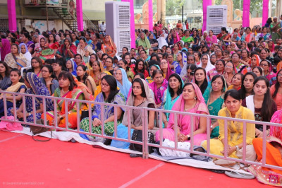 Thousands of disciples from around the world gather to enjoy the 75th anniversary five day grand festival celebrations