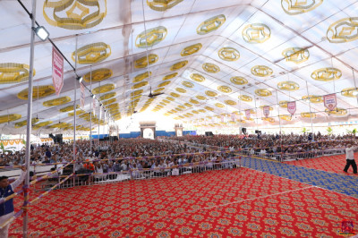 The huge grand assembly is the venue for the two grand festivals