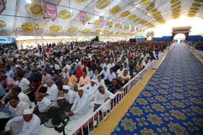 Thousands of disciples from around the world enjoy the grand festival celebrations