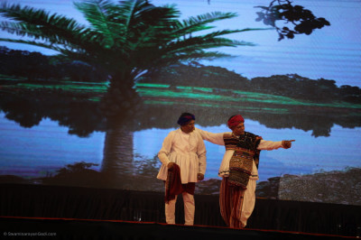 Devotional drama performances continue as disciples perform devotional dances