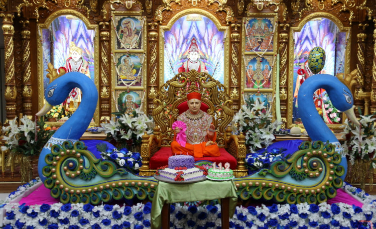 112th Jeevanpran Shree Muktajeevan Swamibapa Jayanti Celebrations - New Jersey