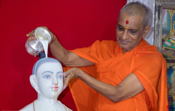 Countdown Commences to Shree Ghanshyam Maharaj Centenary in Kadi Mandir