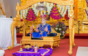Shree Abji Bapashree Jayanti celebrations - Shree Swaminarayan Mandir Kingsbury