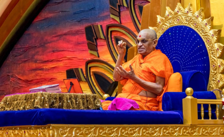 Acharya Swamishree Maharaj's Ashirwad 13th January 2019