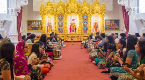 Ramaa Ekadashi Celebrations at Shree Swaminarayan Mandir Kingsbury