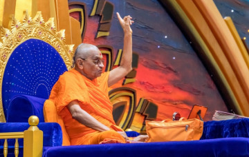 Acharya Swamishree Maharaj's Ashirwad 16th January 2019